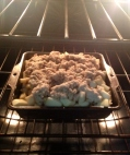 Crumble baking